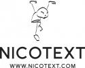 NICOTEXT logotyp