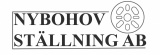 Nybohov Ställning AB logotyp