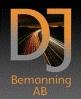 DJ Bemanning AB logotyp