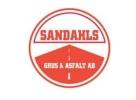 Sandahls Grus & Asfalt logotyp