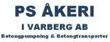 P S Åkeri i Varberg AB logotyp