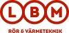 LBM Rör & Värmeteknik logotyp