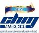Chm Maskin AB logotyp