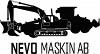 Nevo Maskin AB logotyp