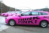 NMT Transport - NMT Think Pink logotyp