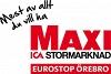 Maxi ICA stormarknad Eurostop Örebro logotyp