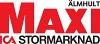Maxi Ica Stormarknad Älmhult logotyp