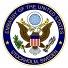 Amerikanska Ambassaden logotyp