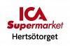 ICA Supermarket Hertsötorget logotyp