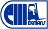 Ekmans Maskin logotyp