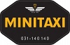 Minitaxi 140140 Göteborg AB logotyp