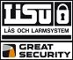 LISU Lås och Larmsystem AB logotyp