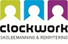 Clockwork skolbemmaning och rekrytering logotyp