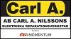 AB Carl A. Nilsson Elektriska Reparationsverkstad logotyp