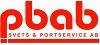 PBAB Svets & Portservice logotyp